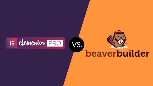 Elementor Pro vs Beaver Builder 2018