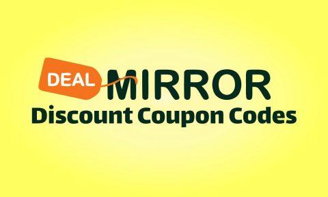 DealMirror coupon codes