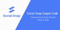 Social Snap Coupon Codes