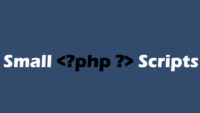 Small PHP Scripts Coupon Codes