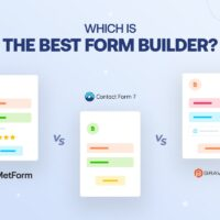 MetForm vs Contact Form 7 vs Gravity Forms: Which Is the Best Form Builder?